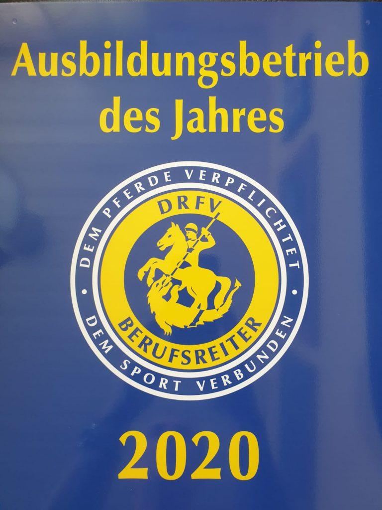 Ausbildungsbetrieb des Jahres 2020